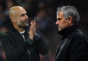 Jose Mourinho und Pep Guardiola zählen zu den besten Trainern der Welt - und es gibt einige Stars, die schon untern beiden trainierten und spielten.