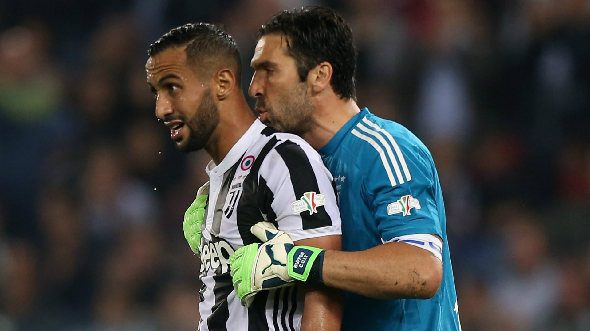 Juventus' Medhi Benatia pays tribute to departing Gianluigi Buffon