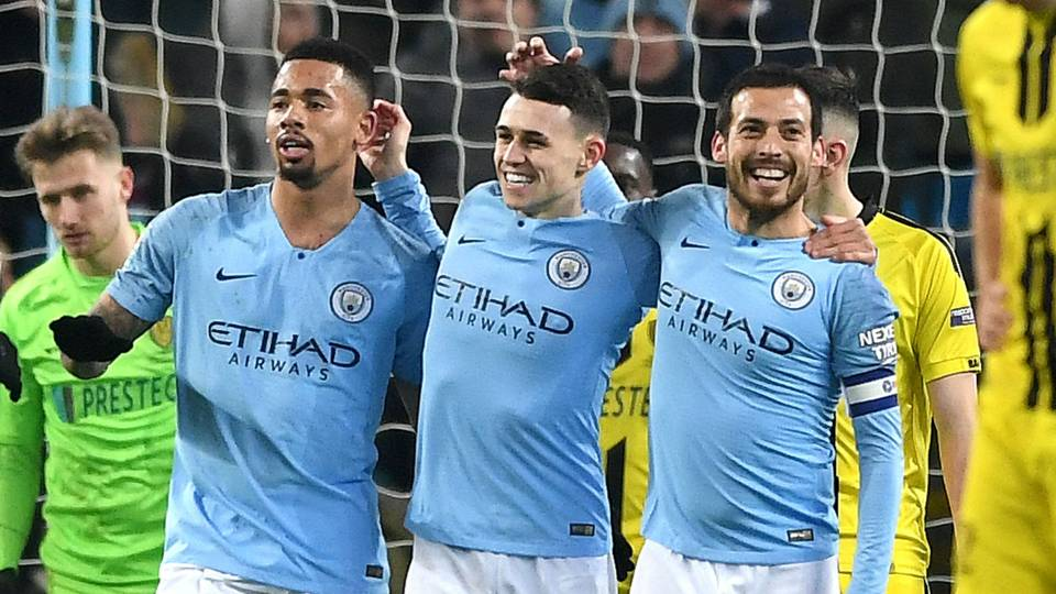 Foden Jesus Silva Manchester City