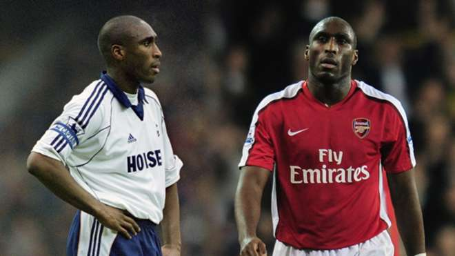Image result for sol campbell arsenal