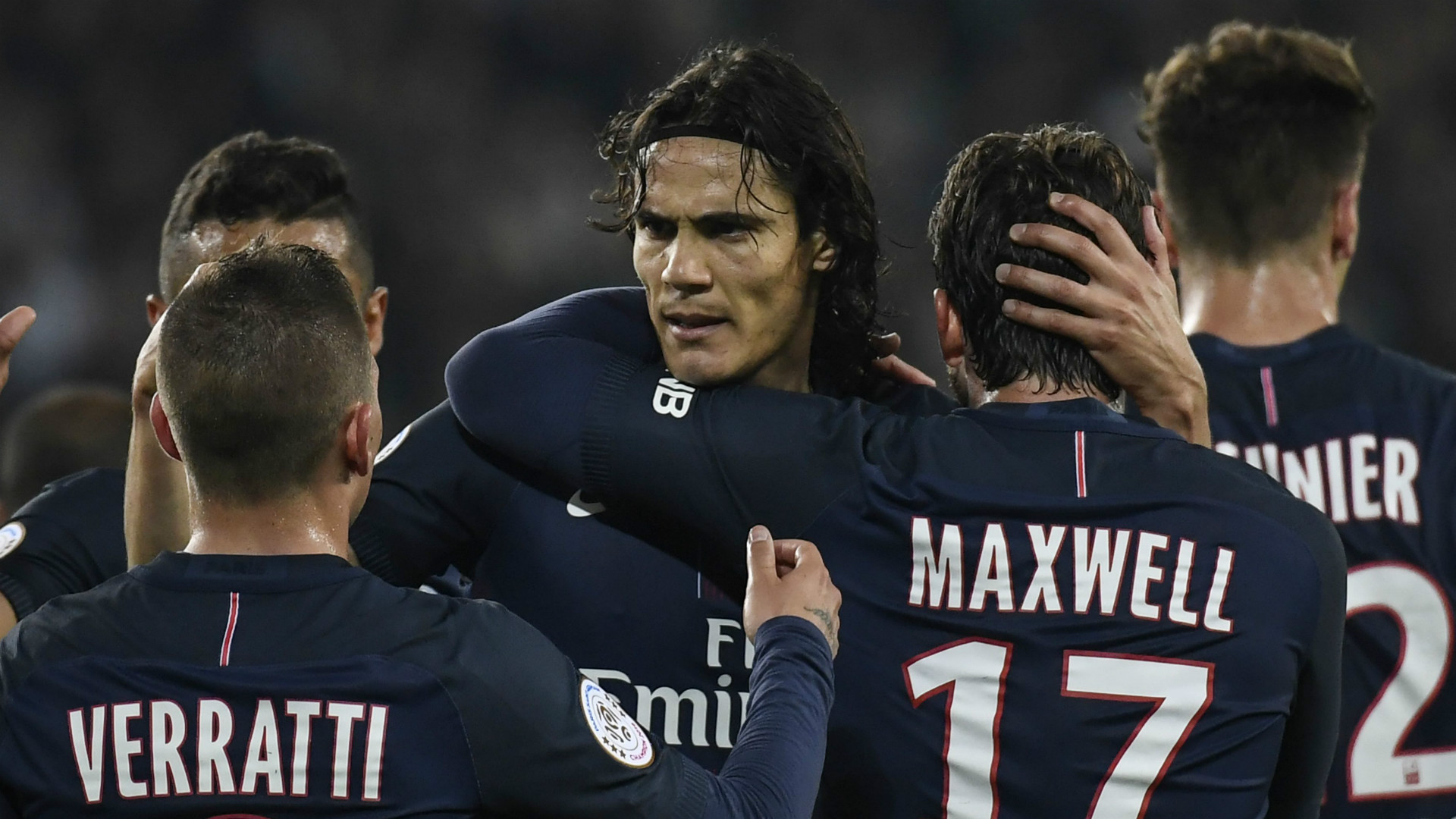 Edinson Cavani PSG Paris Saint-Germain