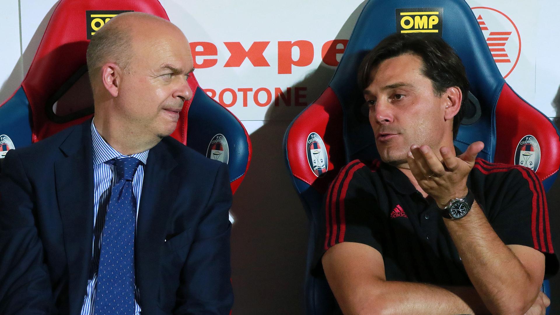 Vincenzo Montella Fassone AC Milan