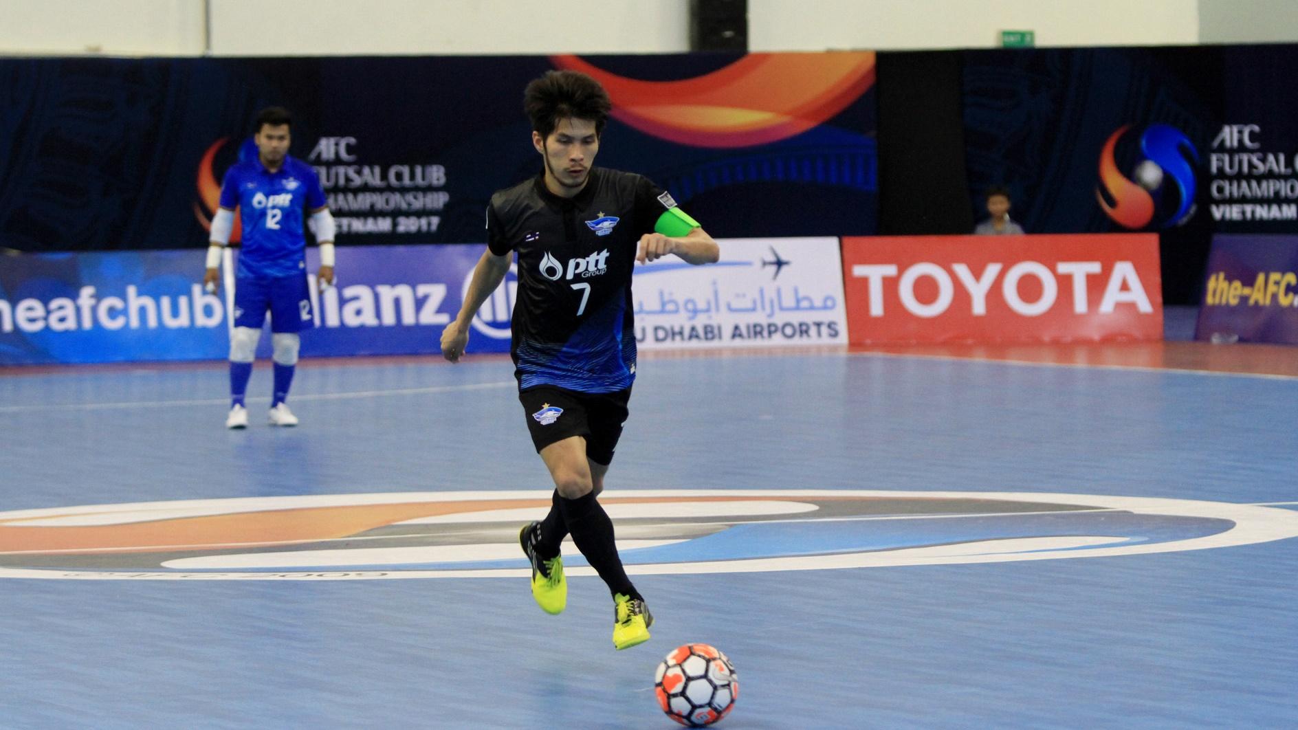 2017 AFC Futsal Club Championship   Bluewave Chonburi vs Almalyk