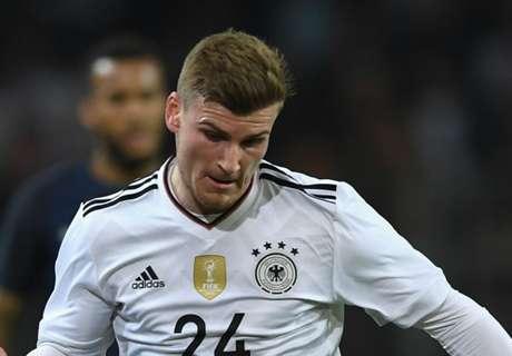 Werner forfait contre l'Azerbaïdjan