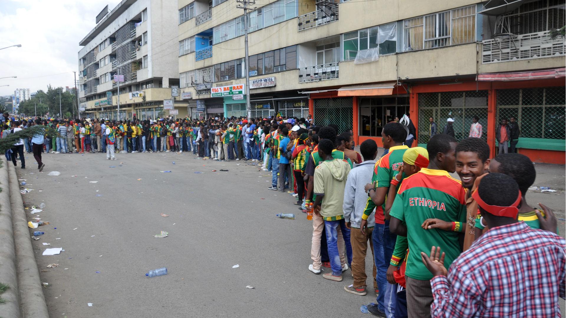 Ethiopia fans 20131013