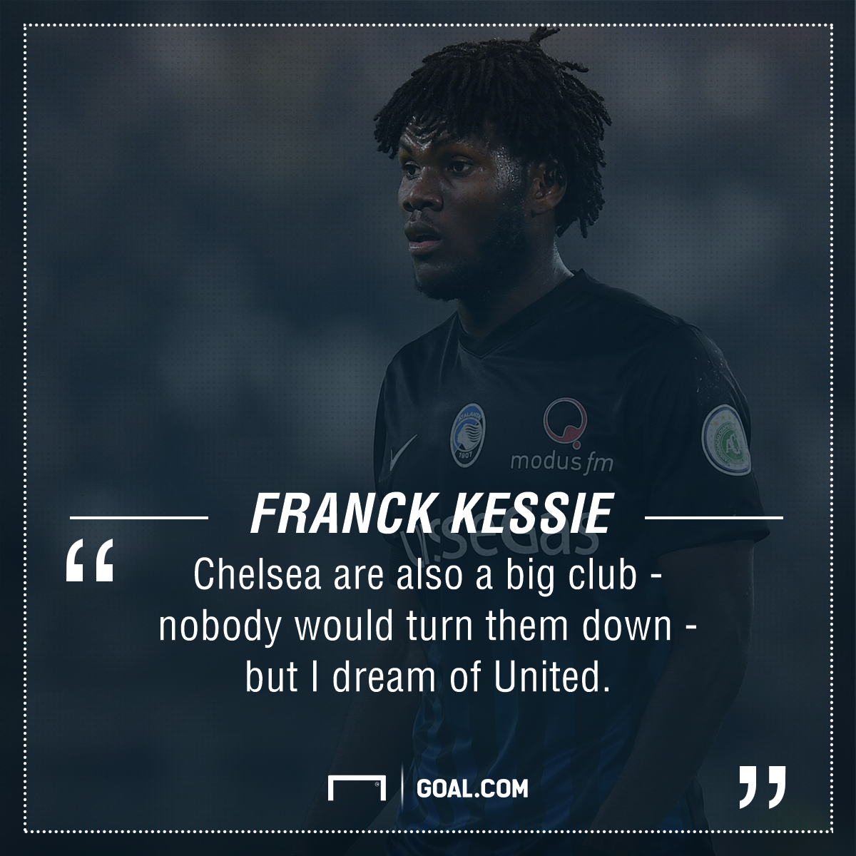 Everton transfer blow as Kessie makes Manchester United declaration