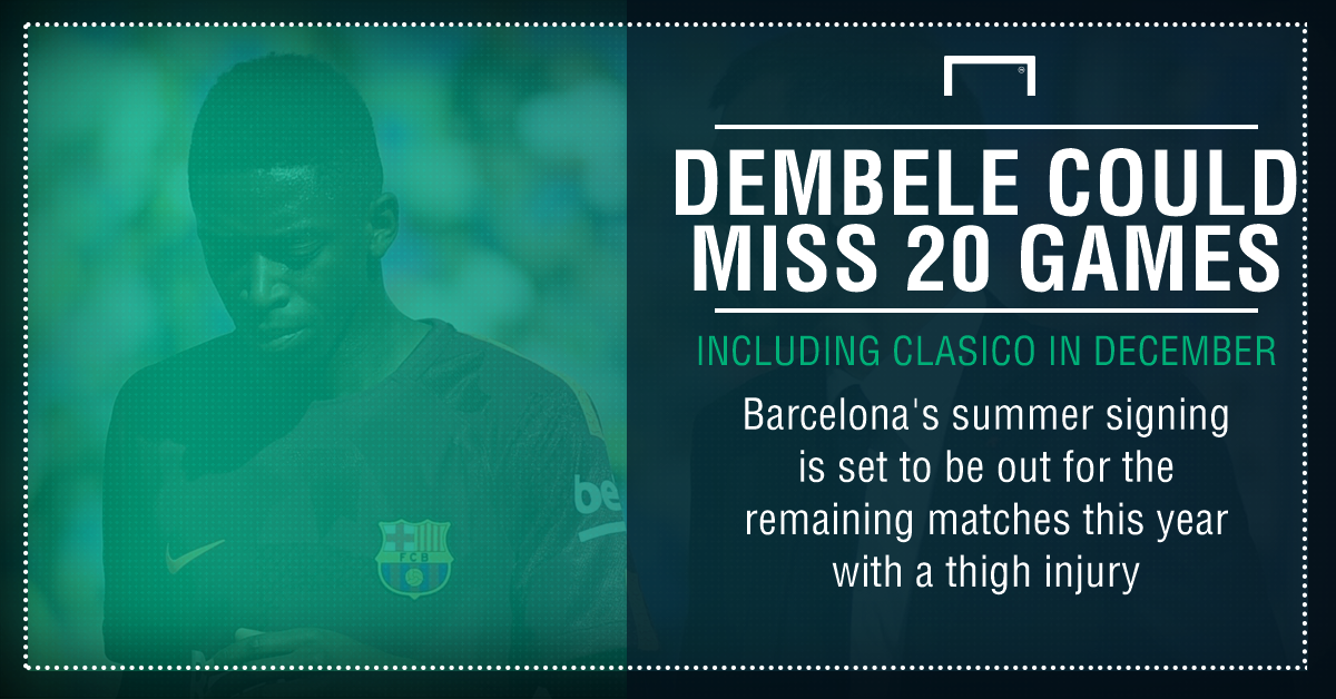 Dembele injury graphic