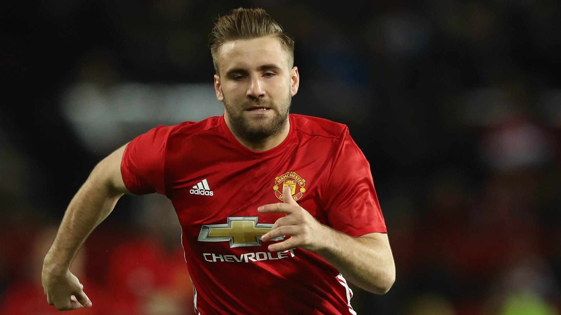 Luke Shaw Man Utd 2016