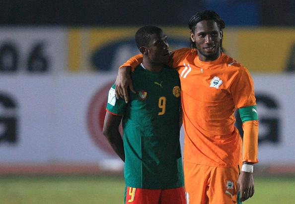 Samuel Eto'o cite Didier Drogba parmi les meilleurs joueurs africains qui ont évolué en Europe