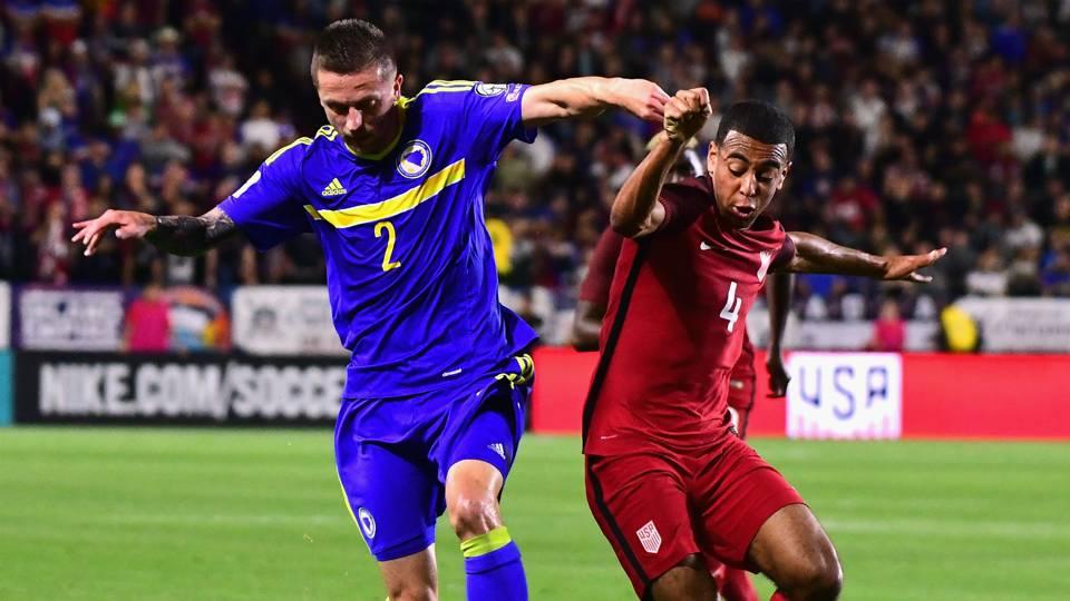 Tyler Adams Almir Bekic USA Bosnia Herzegovina