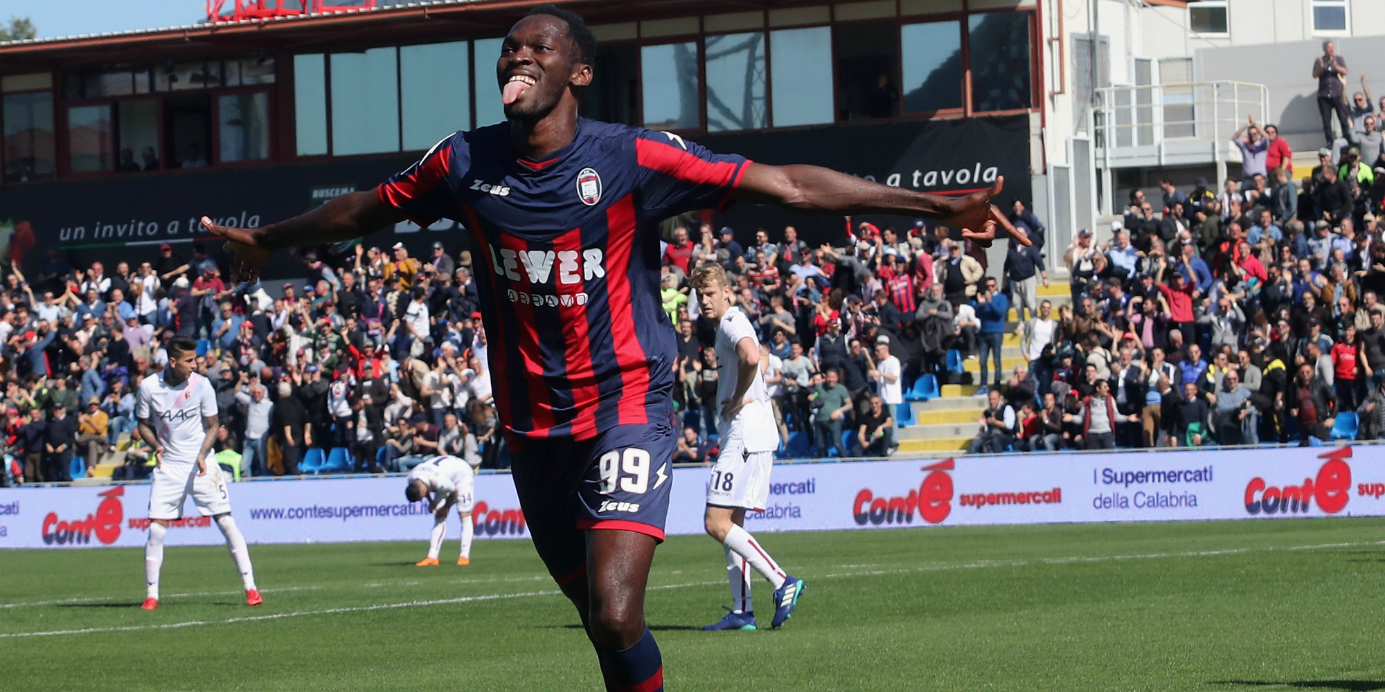 Crotone forward Nwankwo wins Serie B Player of the Month award