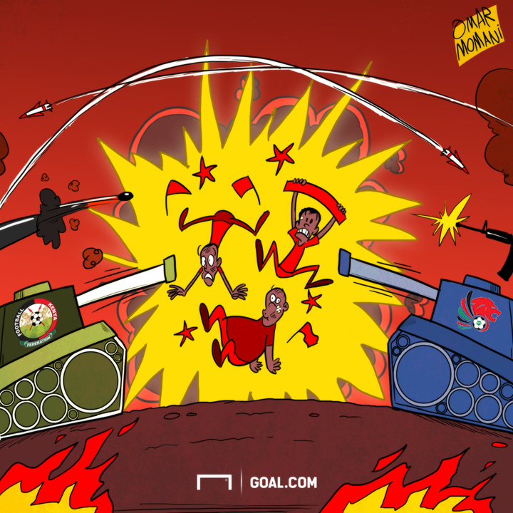 Cartoon on KPL-FKF 'war'