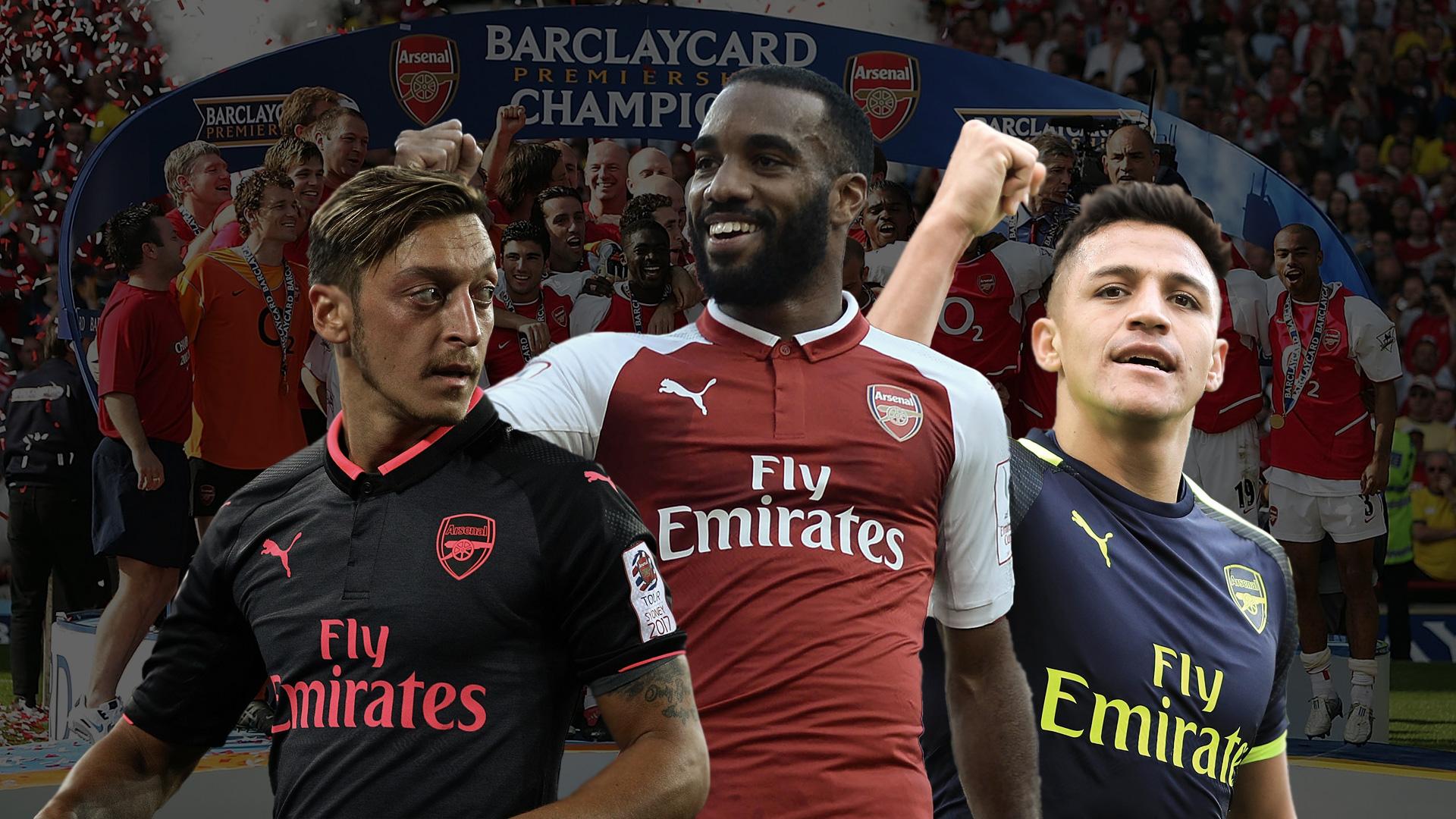 Lacazette Sanchez Özil Warum Arsenal ein Titelanwärter ist