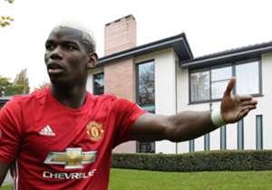 Paul Pogba membeli rumah seharga £2,9 juta tak lama setelah meresmikan transfernya ke Manchester United. Dengan harga semahal itu, tentu interior rumahnya sangat menggiurkan. Simak kemegahannya dalam galeri berikut!