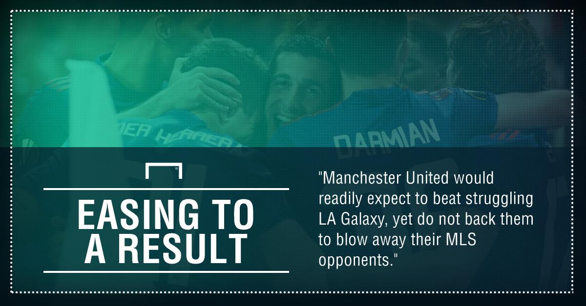 GFX LA Galaxy Manchester United betting