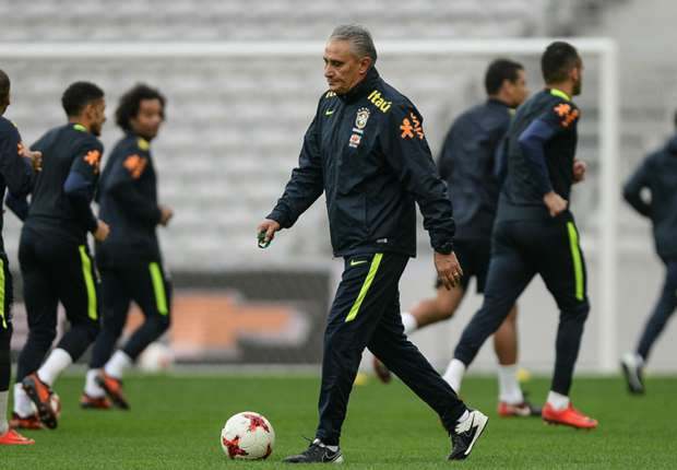 138 matches spanning three continents - Brazil coach Tite and his staff put in some work in 2017