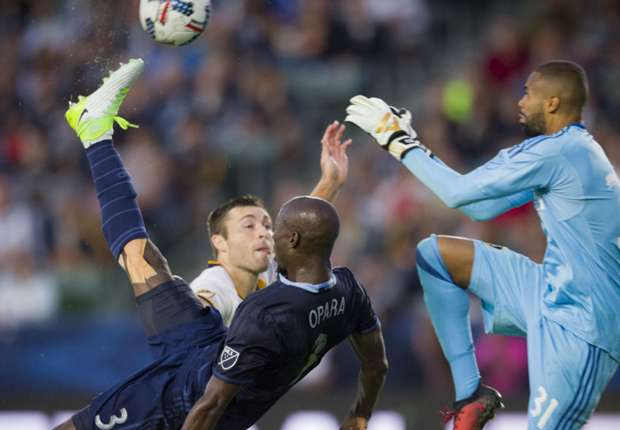 VIDEO: Ike Opara's insane finish rounds out wild day in MLS