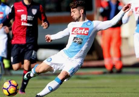 Cagliari - Naples 0-5, résumé de match