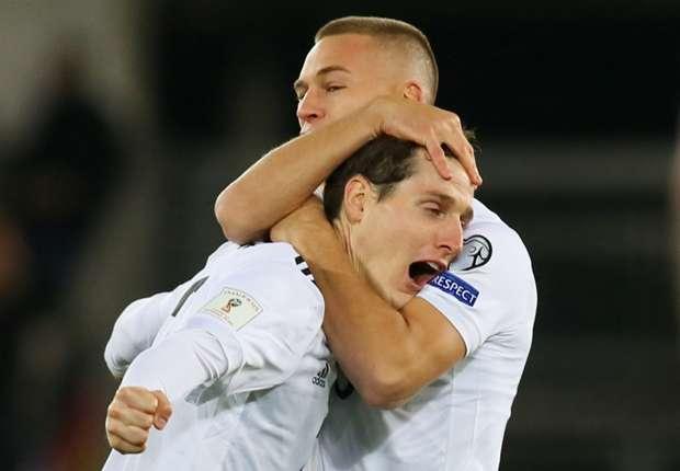 Sebastian Rudy zabio je za Njemačku krasan gol