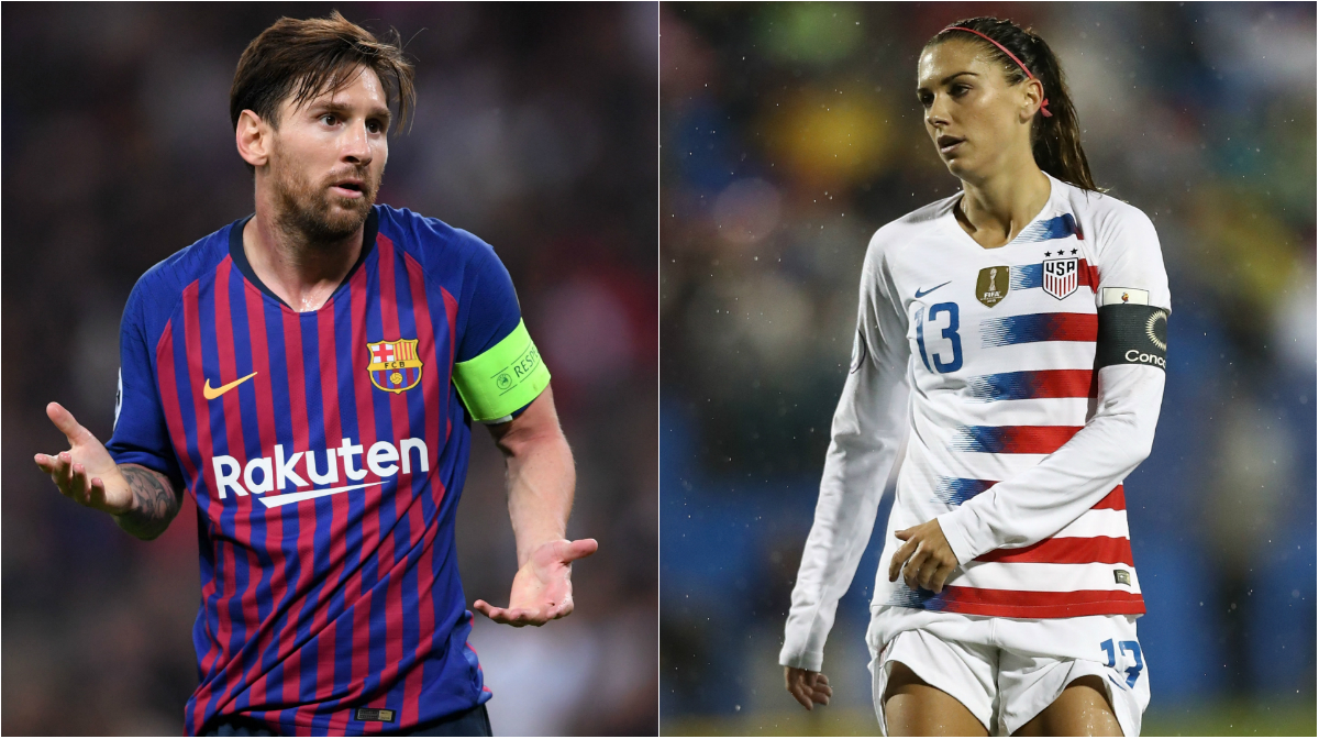United Nations use Messi as example to demand equal pay for women footballers