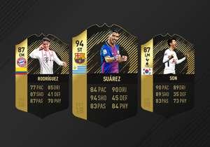 Im EA Sports FIFA Team of the Week 18 sind gleich mehrere Bundesliga-Stars vertreten und ein Luis Suarez mit einem Monster-Rating.