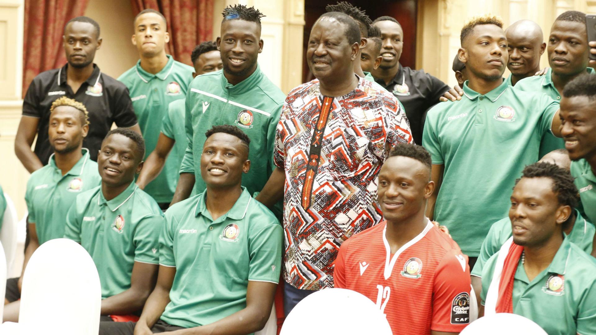 Afcon 2019: Odinga congratulates Harambee Stars on a