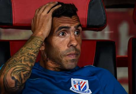 Tevez laughs off disastrous China 'holiday'