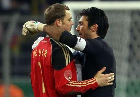 Neuer not close to Buffon's greatness