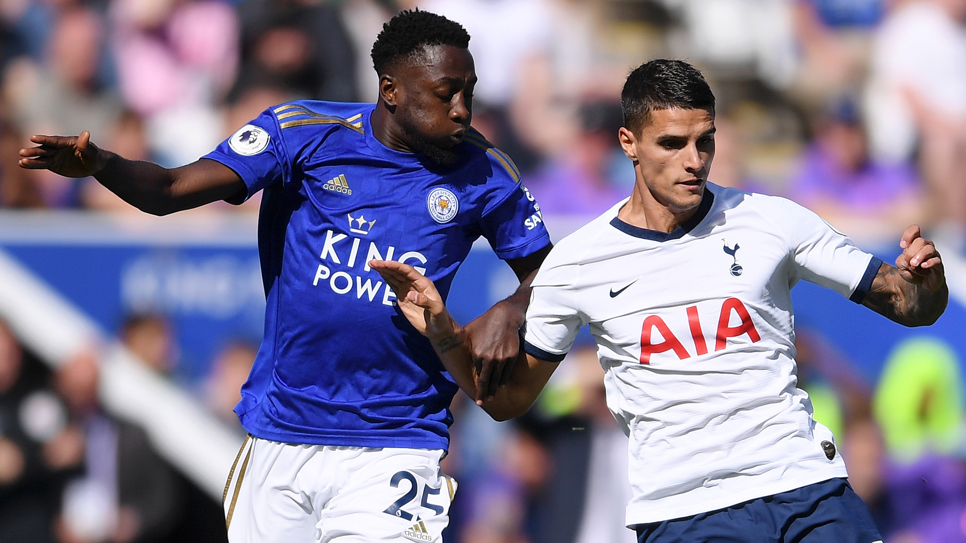 VAR disallows Ndidi's opener for Leicester City against Tottenham Hotspur