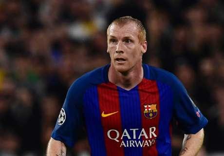 Barcelona confirm Mathieu exit