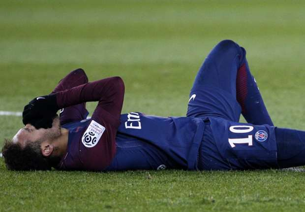 Neymar foot injury: What games will the PSG star miss & how long will he be out for?