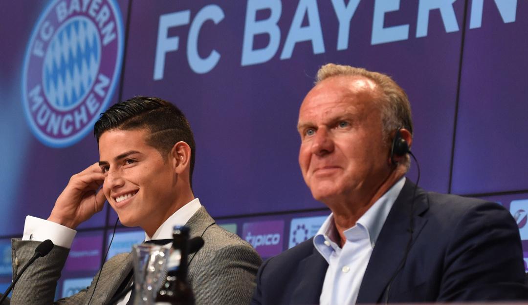 Mercato - Karl-Heinz Rummenigge confirme que James Rodriguez va quitter le Bayern Munich