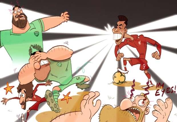30 DE DEZEMBRO | Firmino usou seus super-poderes e teve uma atuação sensacional na goleada do Liverpool sobre o Arsenal