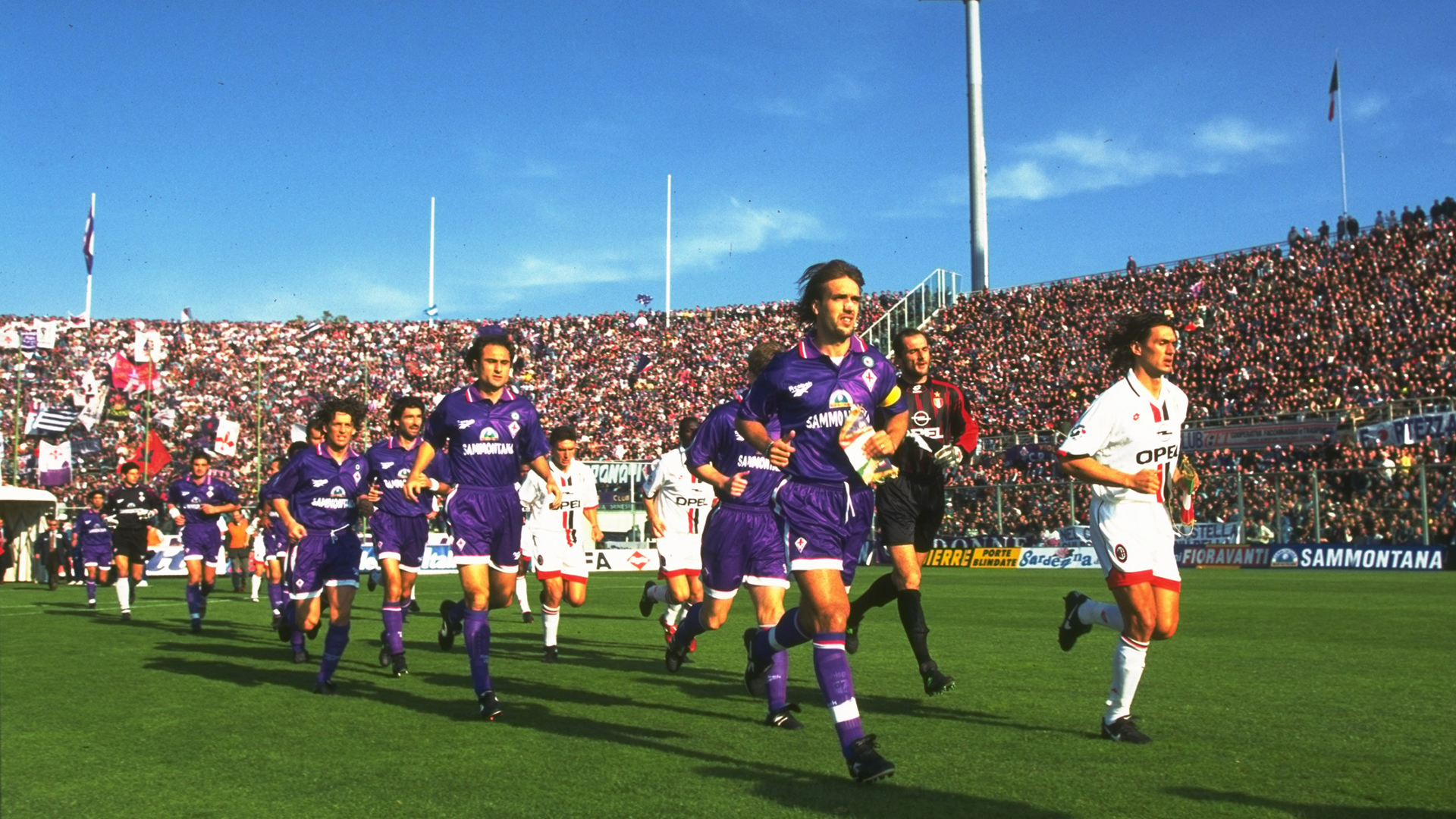 Gabriel Batistuta Fiorentina AC Milan