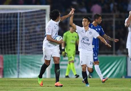 ประวัติศาสตร์ไทยลีก! บุรีรัมย์แซงดับชลบุรี 2-1 ทำแต้มสูงสุดตลอดกาล