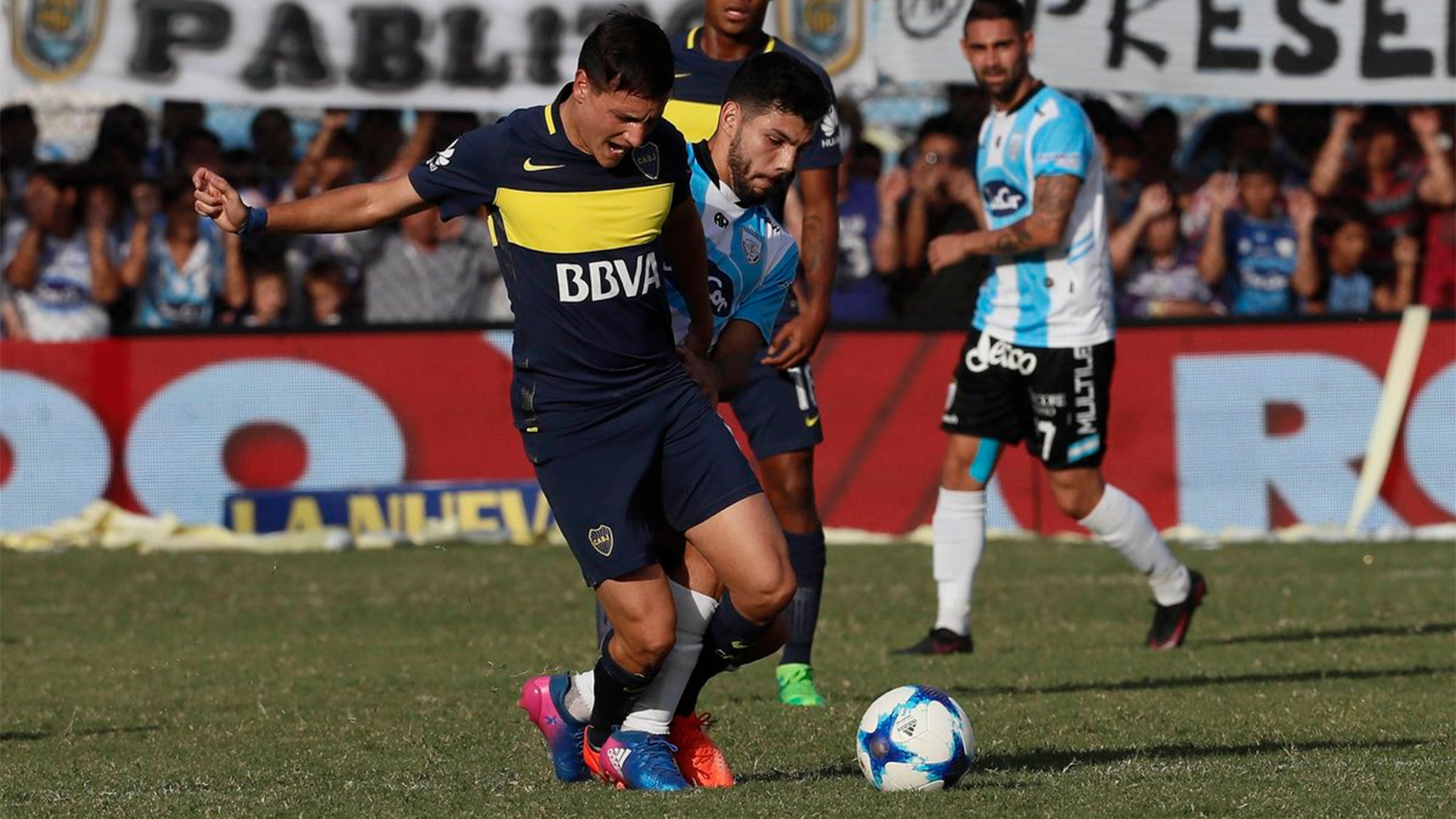 Zuqui Atletico Rafaela Boca Primera Division 23042017