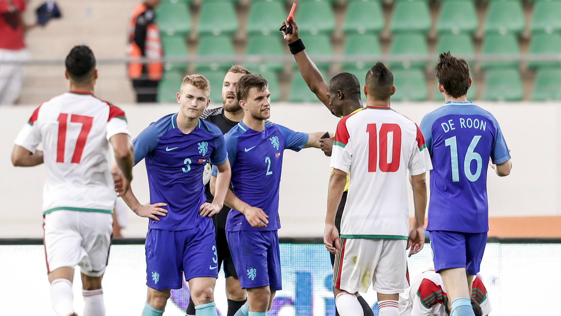 Maroc - Pays-Bas: un match pas si amical que ça... (vidéo)