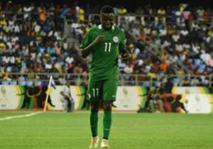 The Plateau United winger was a handful for the Ghanaian defence as he weighed in with a goal to inspire the Super Eagles to a much needed victory