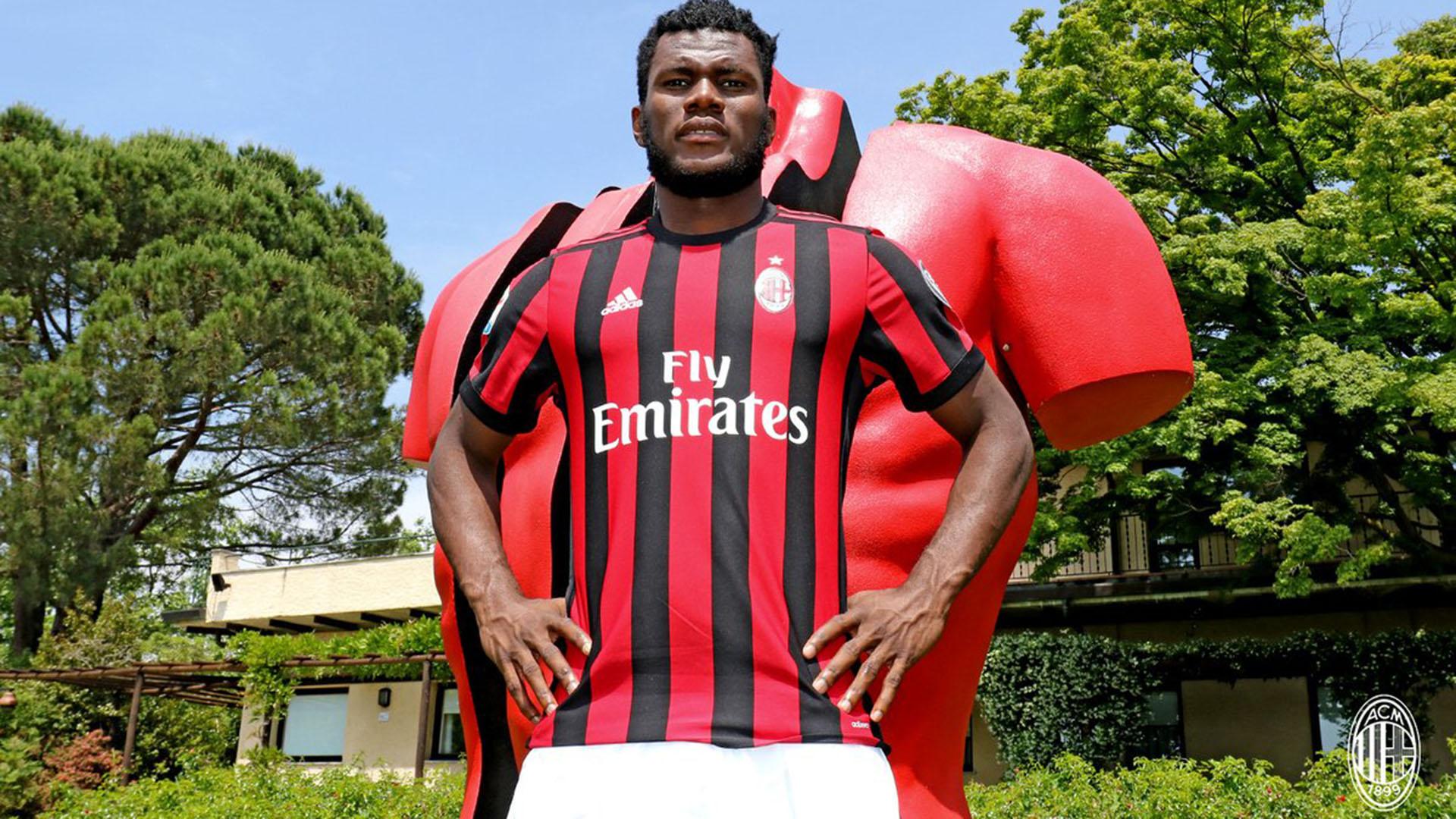 Franck Kessié s'engage à l'AC Milan — Serie A