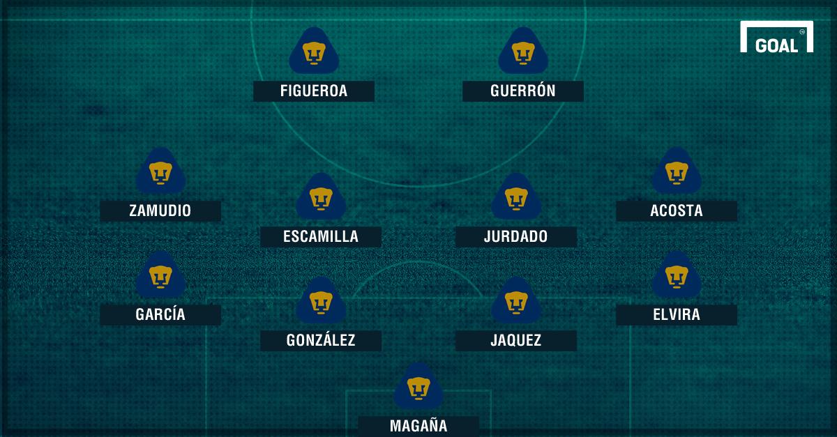 Salva Pumas el empate; golazo de Luis Quintana evita derrota