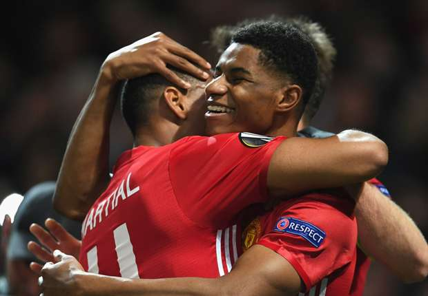 Captain Rashford? Martial teases Man Utd team-mate