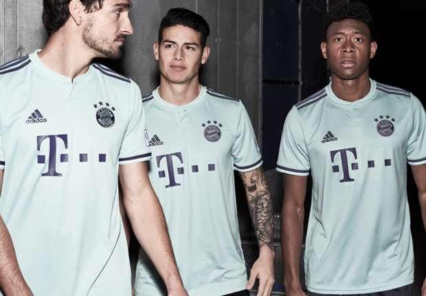 845219141 adidas Football Reveals New FC Bayern Away Jersey For 2018 19 Season ...
