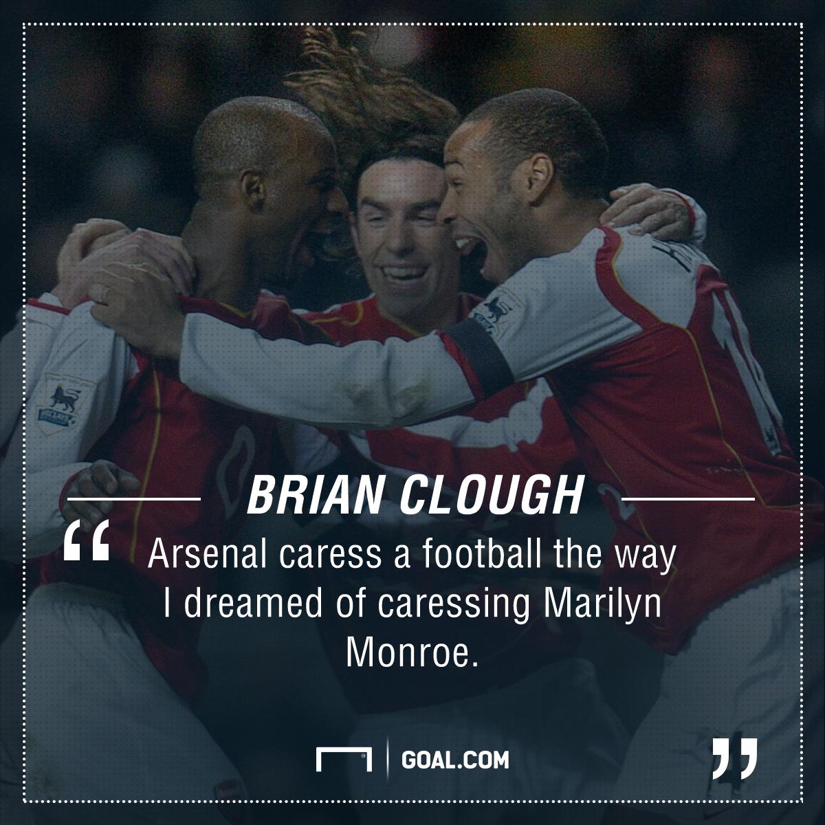 Brian Clough Arsenal Monroe PS