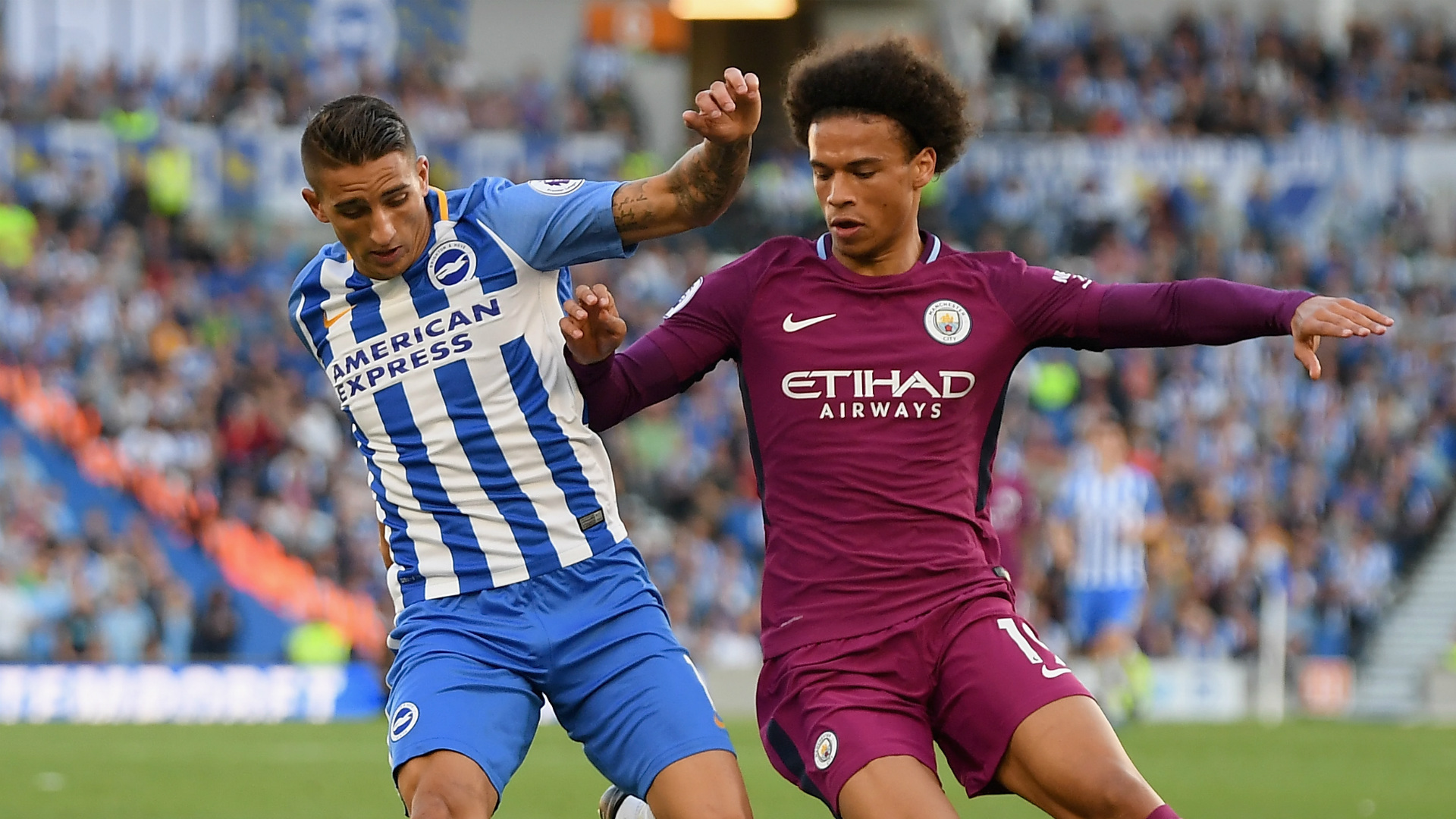 Manchester City Brighton and Hove Albion