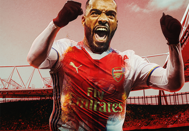 How Arsenal could line up with Alexandre Lacazette