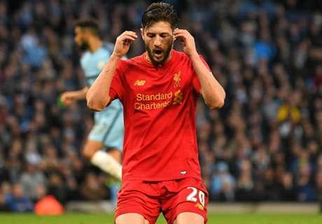 Liverpool: Lallana fällt wohl länger aus
