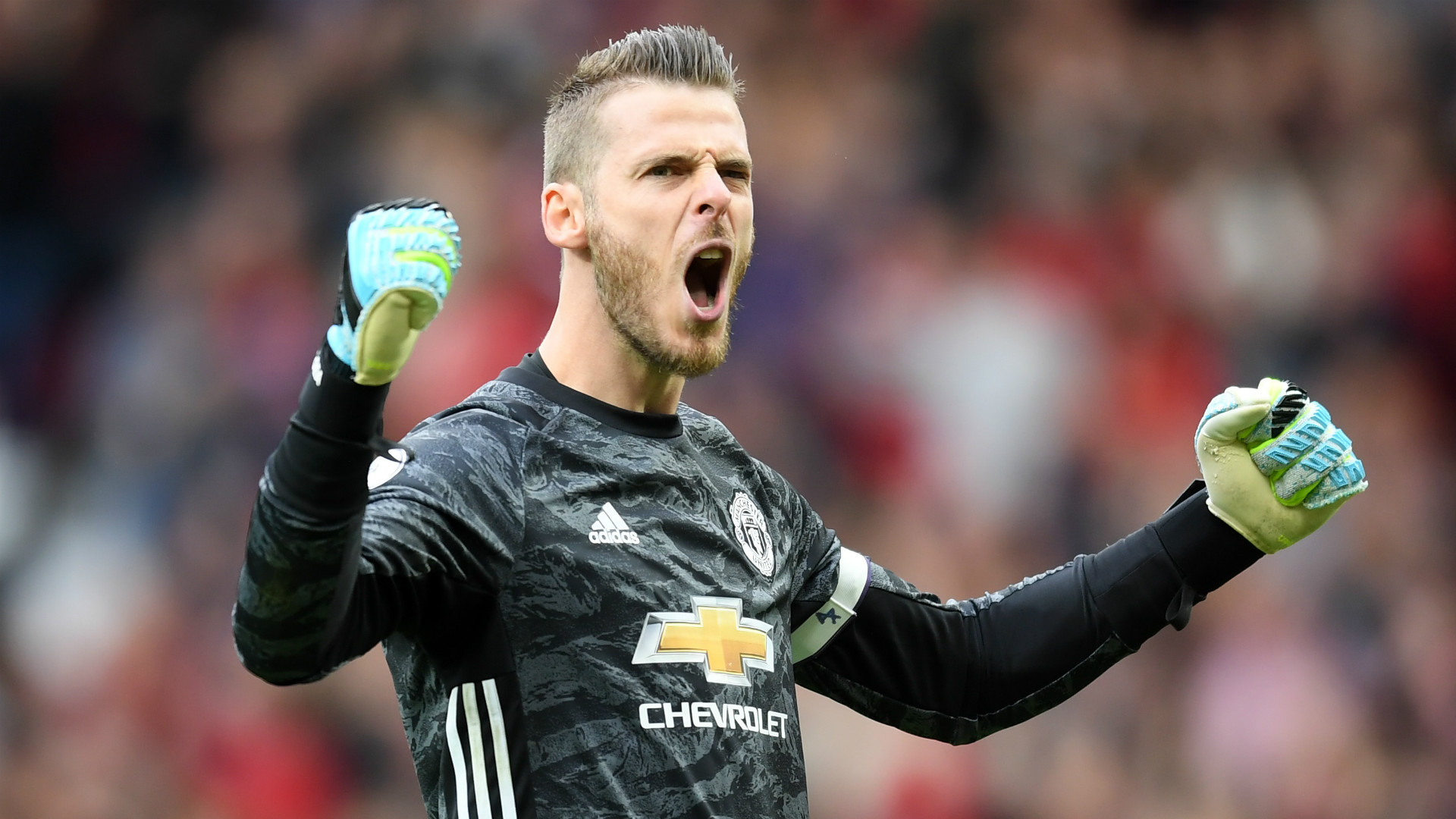 De Gea signs new four-year deal with Man Utd