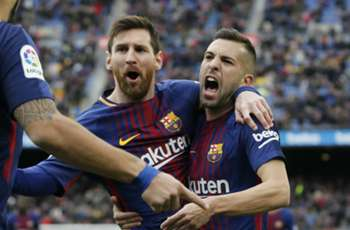 Messi link up down to Barca star being 'best player in history', says Jordi Alba