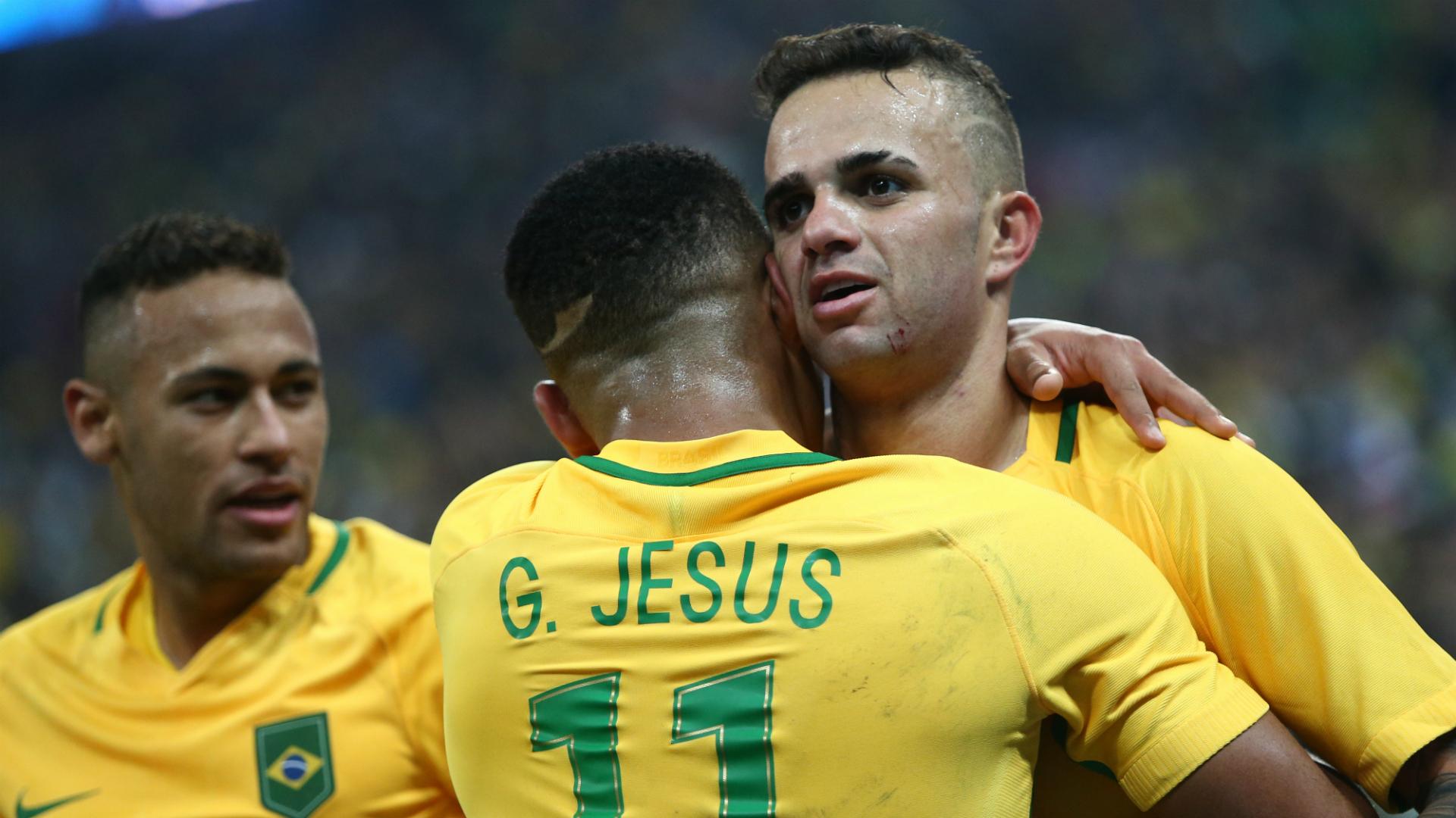 Luan Neymar Gabriel Jesus Brazil Olympics