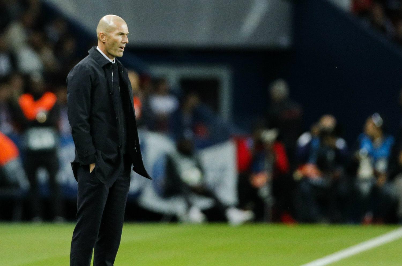 Real Madrid, Zidane n'a pas oublié la défaite contre le PSG